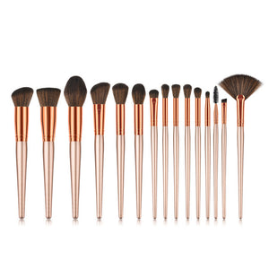 7 make up brush Face powder contour eye brush set #7