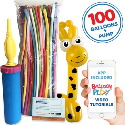 Balloon Animal Basic Kit with App - BalloonPlay