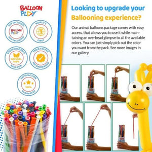 Deluxe Balloon Animal Kit with App - BalloonPlay