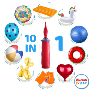 High quality, double action balloon pump for balloon animals and other inflatable - BalloonPlay