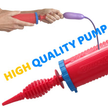 Load image into Gallery viewer, High quality, double action balloon pump for balloon animals and other inflatable - BalloonPlay