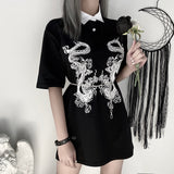 Dragon Print T-Shirt