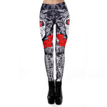 MODA ALTERNATIVA LEGGING CAVEIRA MEXICANA