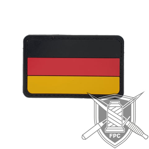 Deutschland Flagge - PVC Patch