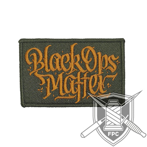 BlackOpsMatter - Patch - oliv