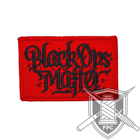 BlackOpsMatter - Patch lim. 20 - rot