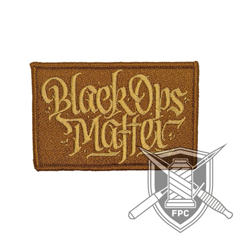 BlackOpsMatter - Patch - desert