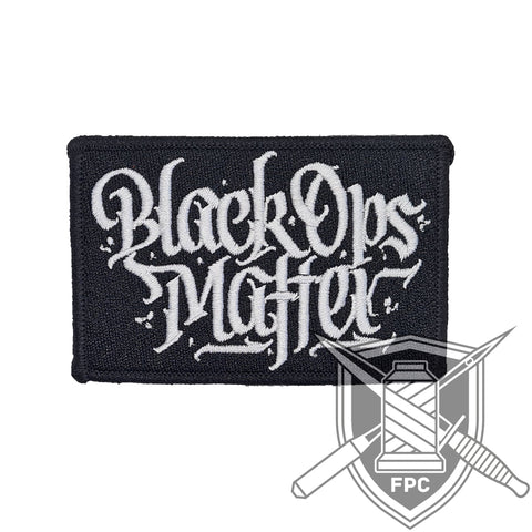 BlackOpsMatter - Patch - schwarz