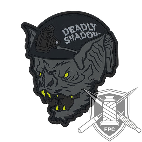 The Bat - Deadly Shadow - PVC Patch