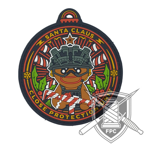 Santa Claus Close Protection Unit - PVC - Patch - Ltd.100