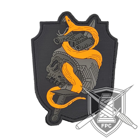 Snake 'n' Roll - lim. 40 neonorange - PVC Patch