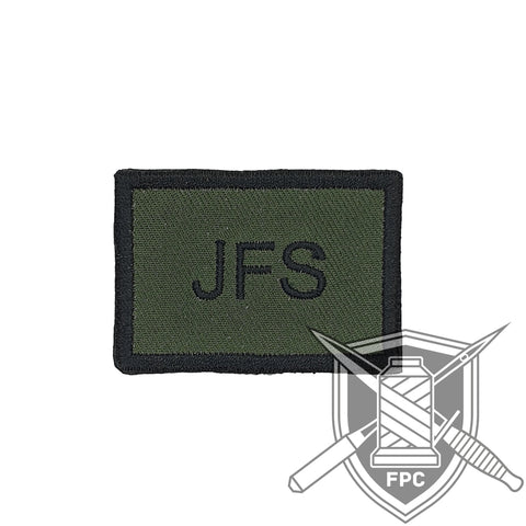JFS / Joint Fire Support - Taktisches Zeichen - Patch - oliv