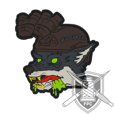 The Fox - Berserker - PVC Patch
