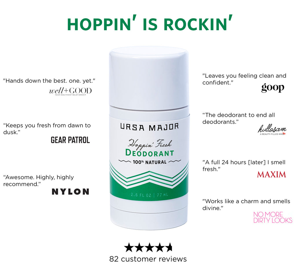 Ursa Major Hoppin' Fresh Deodorant press