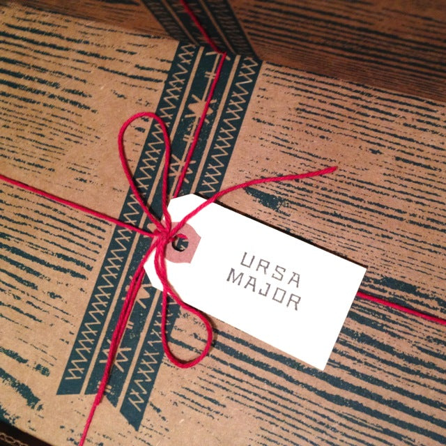 ursa major holiday giftwrap