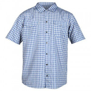 Zoic's Nirvana mountain bike jersey in blue checks.