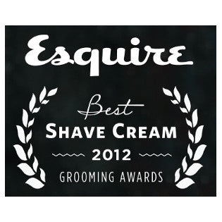 Esquire 2012 Grooming Awards: Best Shave Cream