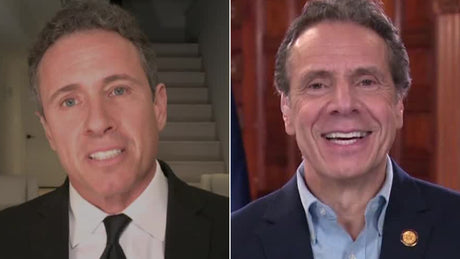 New York Governor Cuomo & Brother Argue On-Air like Children
