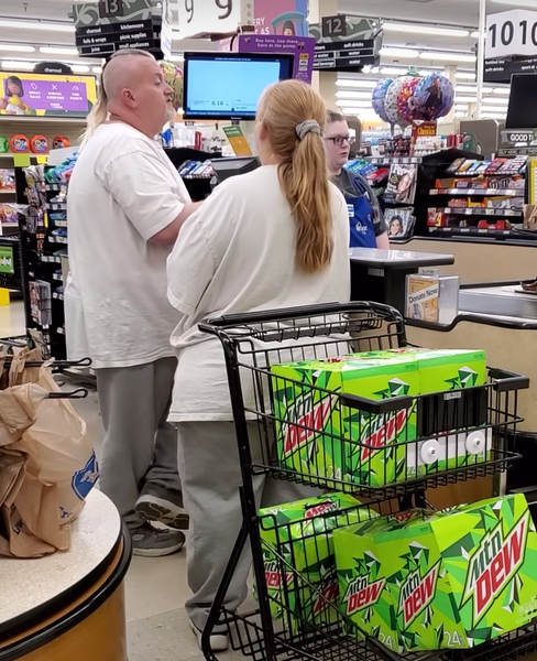 A Kentucky couple absolutely lost it when they weren't allowed to buy 23 cases of Mountain Dew