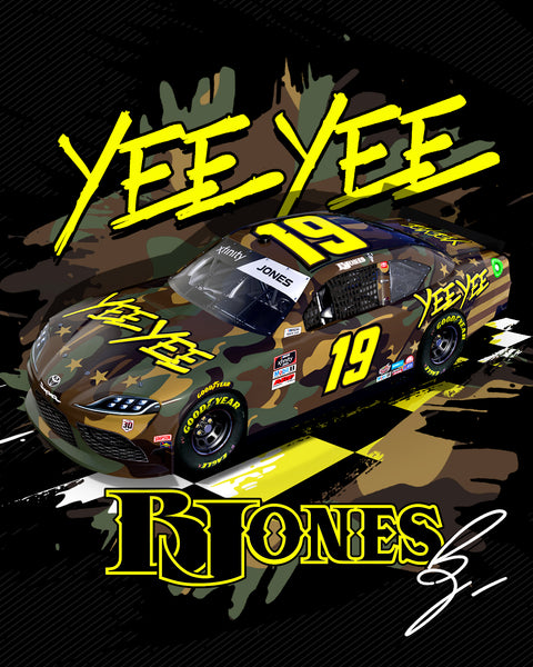Yee Yee Announces NASCAR Partnership