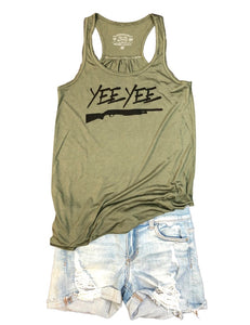 Military Green Womens Tank