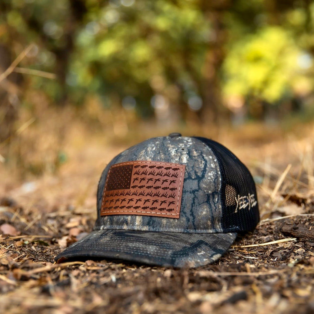 Ol Glory Outdoors Camo Hat