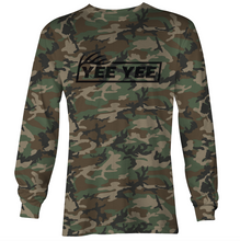 Load image into Gallery viewer, Camo Performance Long Sleeve Hunting Tee