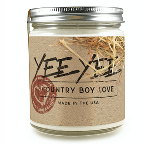 Country Boy Love Candle