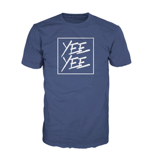 Blue Square Tee