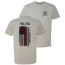 Load image into Gallery viewer, Yee Yee Thin Red Line Tee