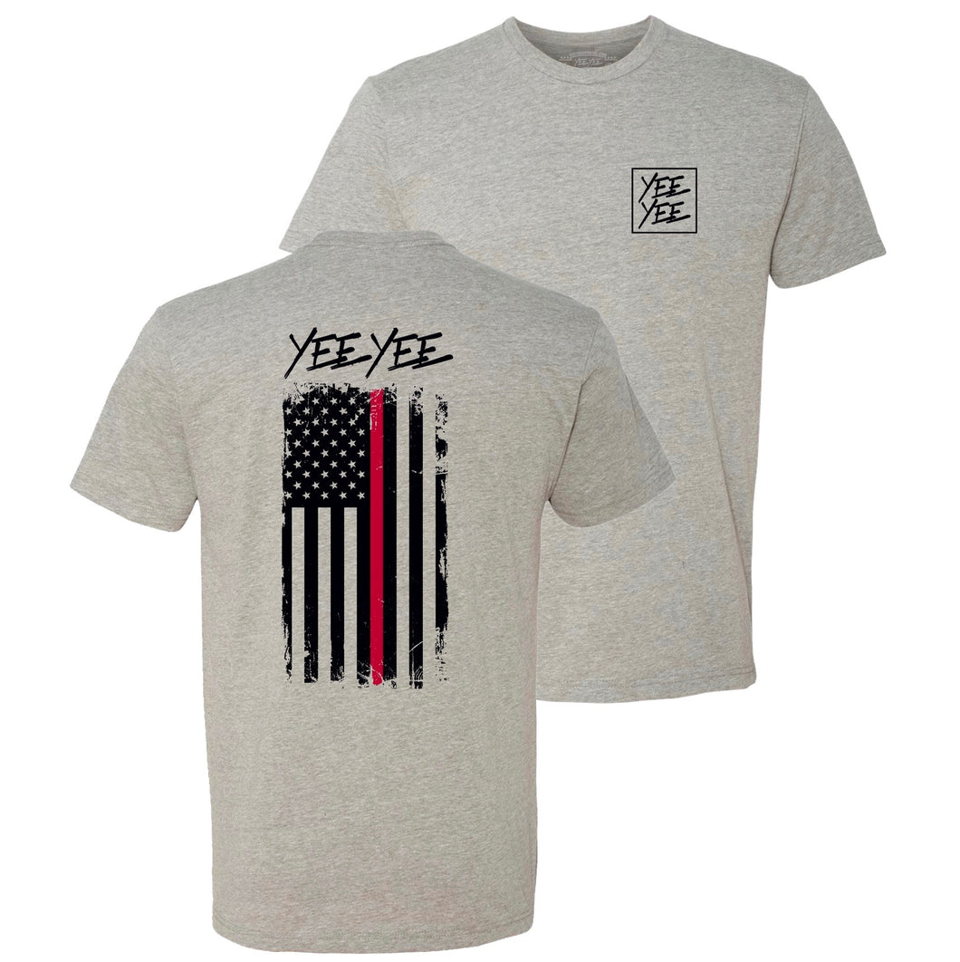 Yee Yee Thin Red Line Tee