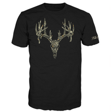 Load image into Gallery viewer, Camo Whitetail Skull Tee