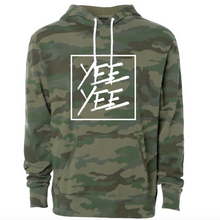 Load image into Gallery viewer, Yee Yee Woodland Camo Hoodie
