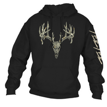 Load image into Gallery viewer, Yee Yee Camo Whitetail Skull Hoodie