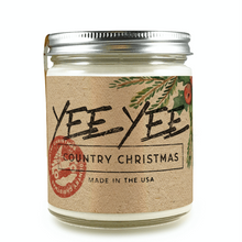 Load image into Gallery viewer, Yee Yee Candle (Country Christmas)