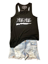 Load image into Gallery viewer, Womens Black Yee Yee Tank