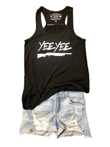 Womens Black Yee Yee Tank