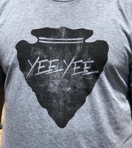 Grey Arrowhead Tee