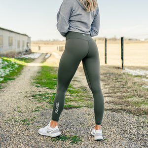Military Green Leggings (25