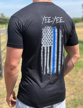 Load image into Gallery viewer, Yee Yee Thin Blue Line Tee