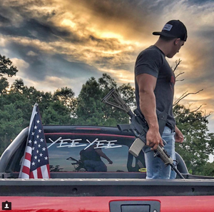 "Yee Yee windshield decal (36"")"