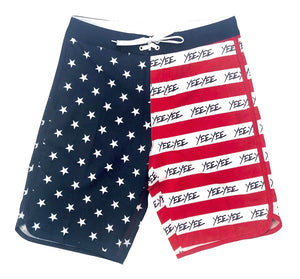 Yee Yee America Swim Trunks