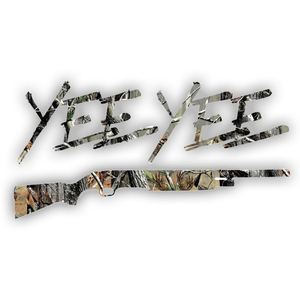 Shotgun Camo Decal (6