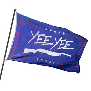 Patriotic Yee Yee Flag
