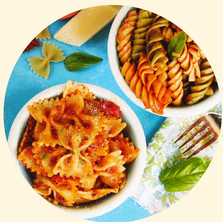 Protein Packed Pasta. Healthy recipes. Family friendly recipes.