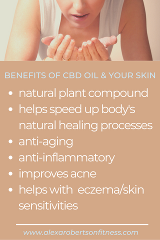 CBD & THE AMAZING SKINCARE BENEFITS