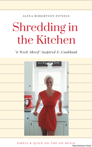 "ARFiT ""Shredding in the Kitchen"" E-Cookbook"
