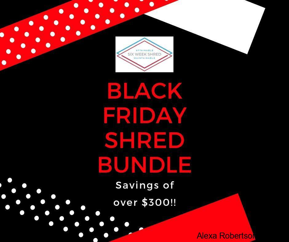Black Friday Shred Bundle - Alexa Robertson Fitness