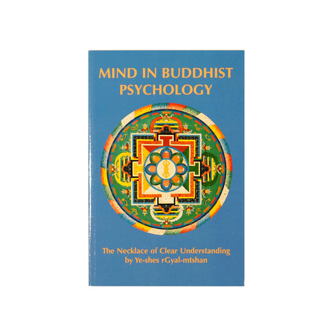Mind in Buddhist Psychology