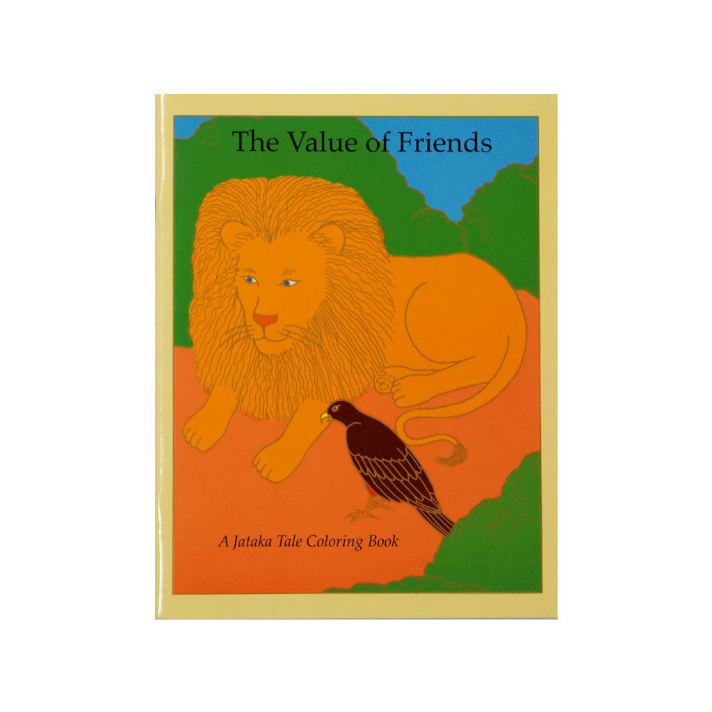 The Best of Friends / Value of Friendship - Coloring Book